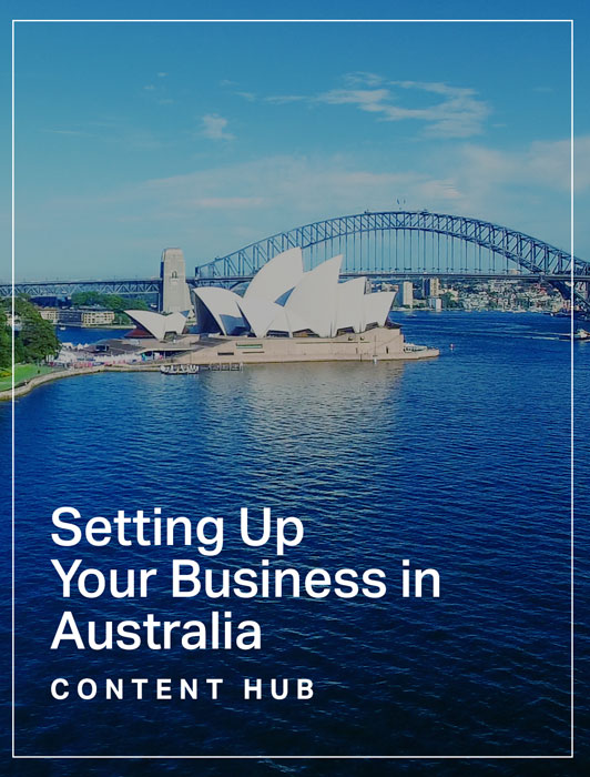 Setting Up Your Business in Australia Hub