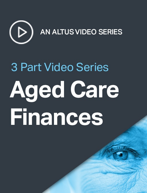 Aged Care Finances   Your questions answered